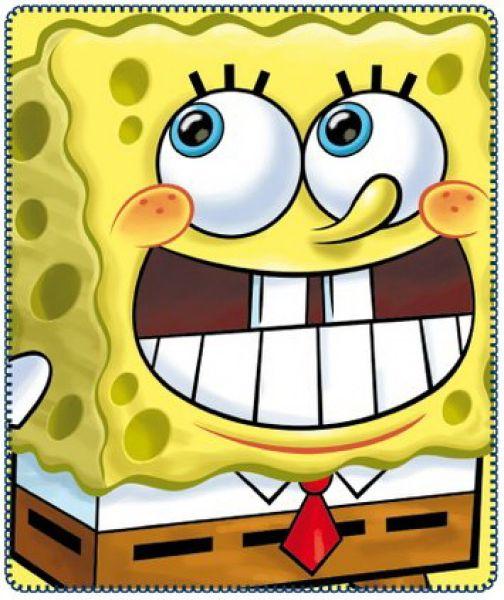 Fleece-Decke<br> Spongebob 120 *<br>140cm