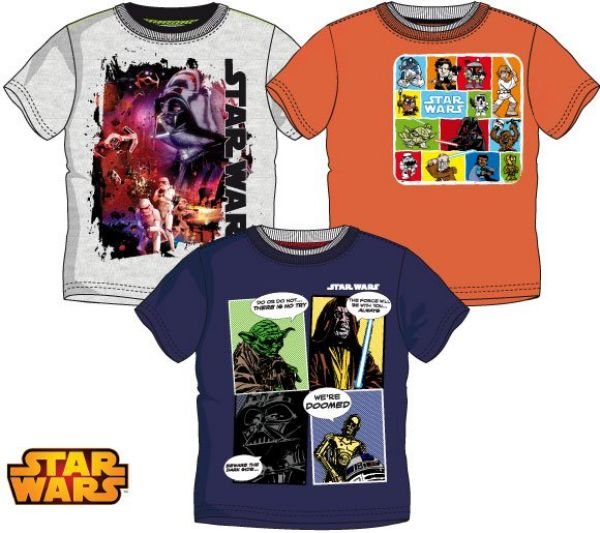 Children&#39;s<br> T-shirt, top Star<br>Wars 4-10 years