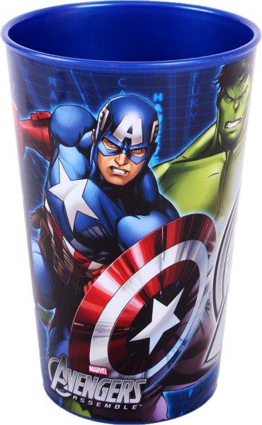 Avengers glass, plastic