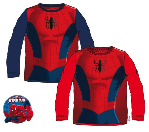 Children&#39;s<br> long-sleeved<br> T-shirt Spider-Man ...
