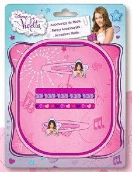 Disney Violetta<br> spinki do włosów,<br>guma do włosów o