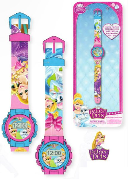 Digital watch<br>Disney Palace Pets