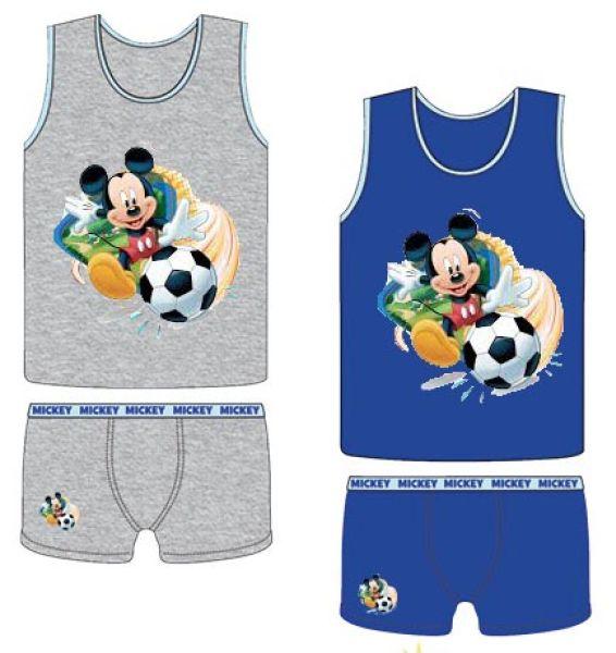T-shirts, boxer<br> shorts set Disney<br>Mickey 3-8 years