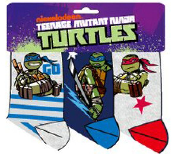 Children socks<br> Teenage Mutant<br>Ninja Turtles, Ninja