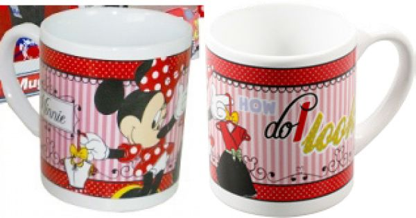 Mug Disney Minnie<br>(8.oz, 236ml)