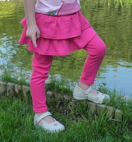 Baby rosa Rock und<br> Leggings auch<br>104-110cm