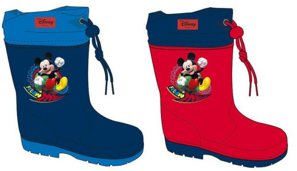 Disney Mickey<br> children&#39;s<br>rubber boots 22-32