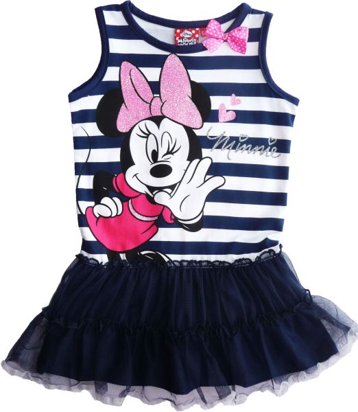 -Kinder-Sommer<br> Kleid Disney<br>Minnie 98-134cm