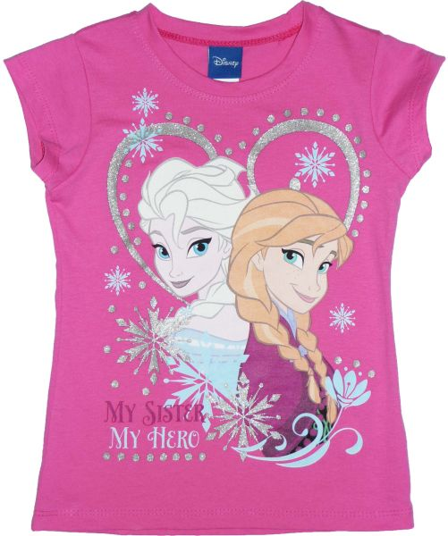 Kinder-T-Shirt,<br> Top Disney<br>Eingefroren, frozen