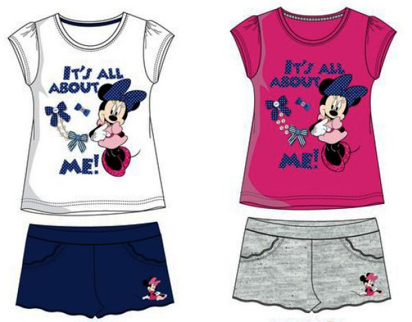 Disney Minnie 2<br>piece set 3-8 years