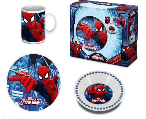Children porcelain<br> dinnerware<br>Spiderman, Spiderman