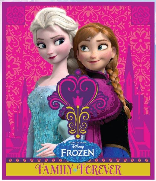 Fleecedecke Disney<br> Gefroren, Frozen<br>120 * 140cm