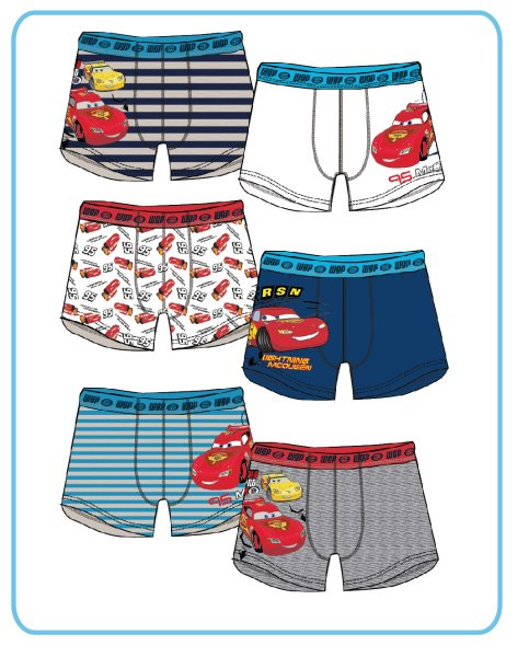 Children boxer<br> Disney Cars, Cars<br>2 pcs / pack