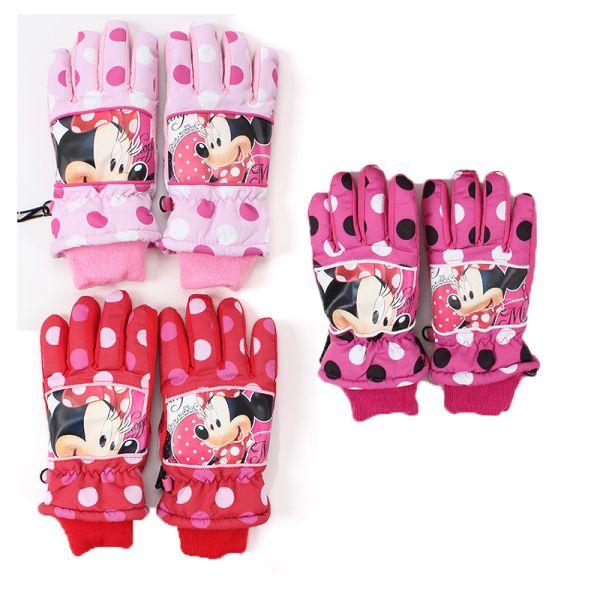 Dzieci zimowe<br> rękawice<br> narciarskie Disney ...