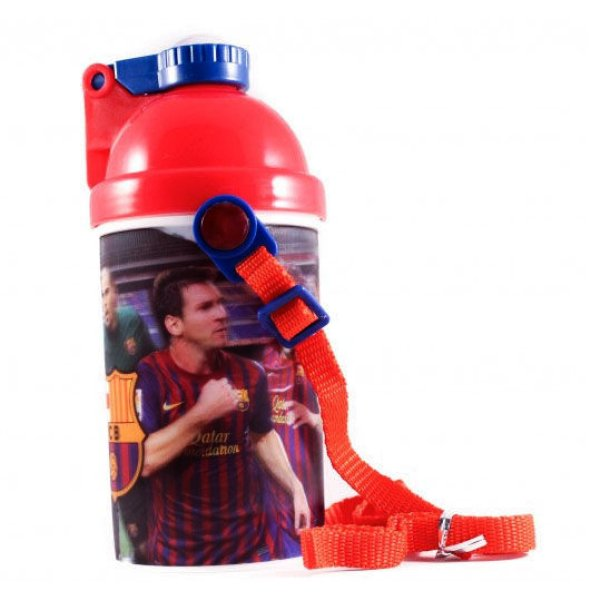 Water bottle,<br> sports bottle FCB<br>Barcelona 3D