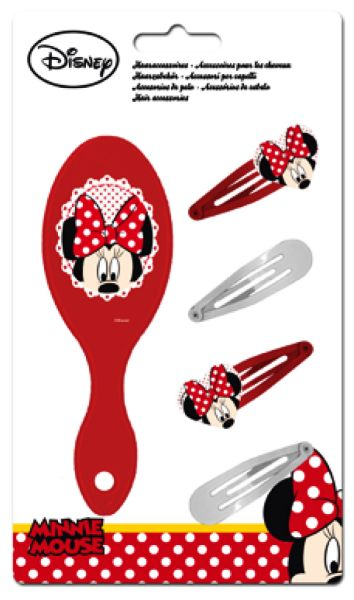 Disney Minnie<br> Barrette &amp;<br>Comb Set