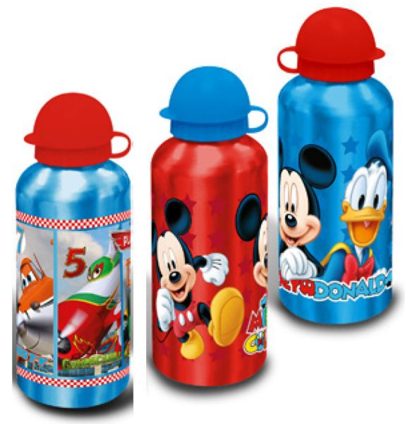 Aluminum bottle<br> Disney Mickey,<br>Planes 500ml