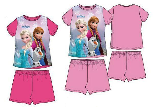 Kinder kurzen<br> Schlafanzug Disney<br>Frozen, Gefrorene