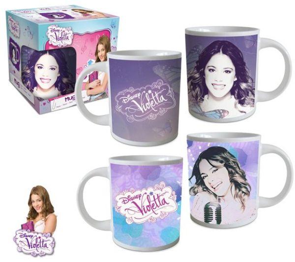 8.oz Tasse Disney<br>Violetta (237ml)