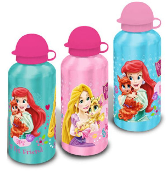 Aluminum bottle<br> Disney Princesses,<br>Princess 500ml