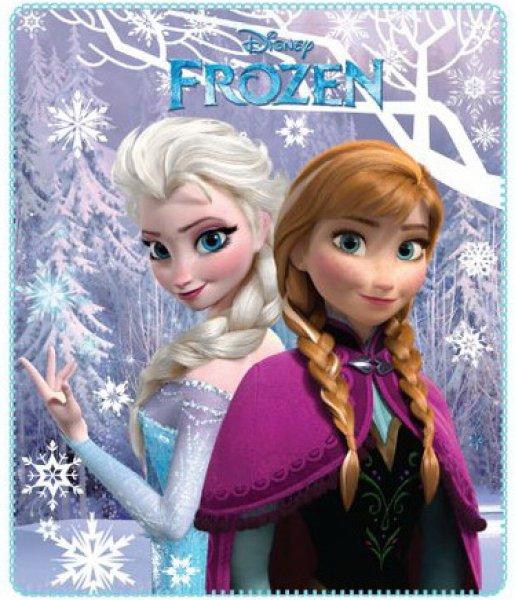 Fleecedecke Disney<br> Eingefroren,<br>frozen 120 * 140cm