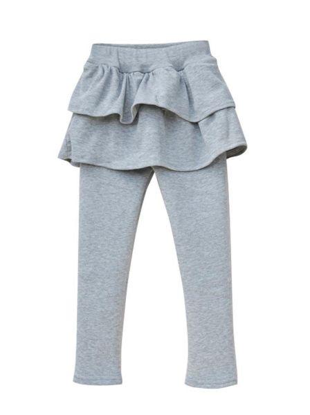 Dzieci również<br> 110-116cm szara<br>spódnica Legging +