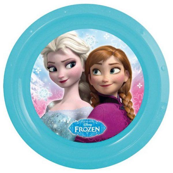 Disney Frozen,<br> Frozen flat plate,<br>plastic
