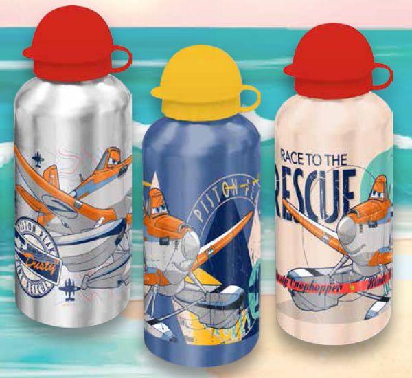 Aluminum bottle<br> Disney Aircrafts,<br>Planes 500ml