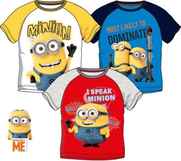 Children&#39;s<br> T-shirt, top<br>Minions 3-8 years