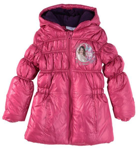 Veste matelassée<br> pour enfants<br>Disney Violetta rose