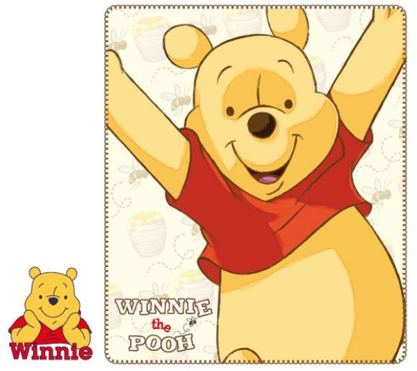 Fleece-Decke<br> Disney Winnie<br> Puuh, Winnie the ...