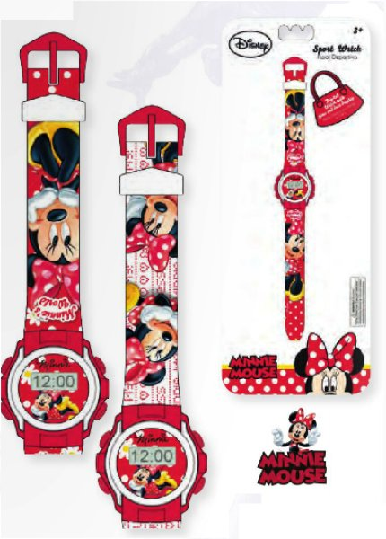 Digital watch<br>Disney Minnie