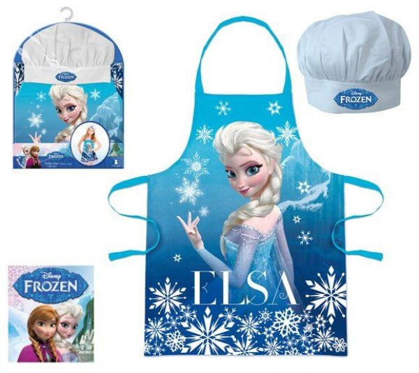 Children&#39;s<br> Apron 2 Sticks<br>Disney frozen