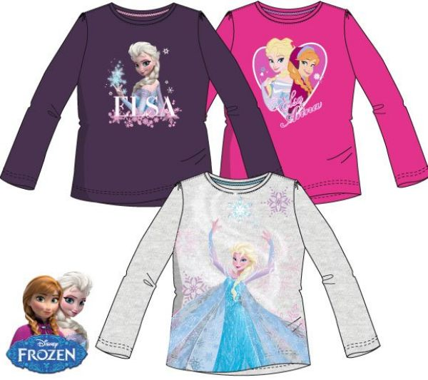 Children&#39;s<br> long t-shirt, top<br>Disney Frozen, fr