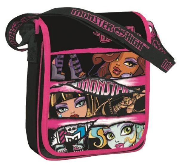 Torba Monster High<br> torba na ramię 25<br>x 21,8 x 5 cm