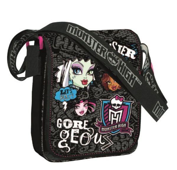 Monster High<br> torba, na ramię 25<br>x 21,8 x 5 cm