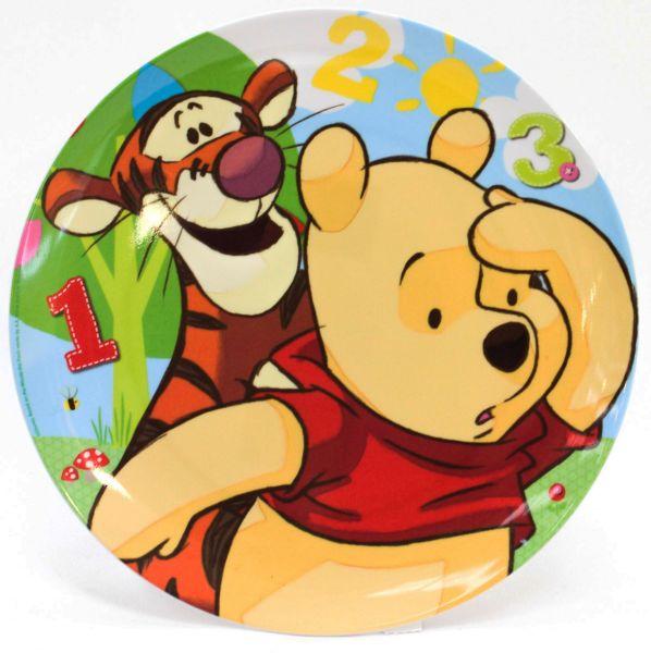 Disney Winnie the<br> Pooh flachen<br>Platte, Melamin