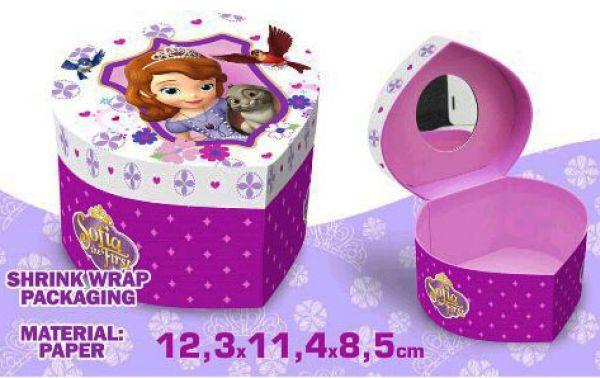 Heart Shaped<br> Jewellery Box<br>Disney Sofia, Sofia
