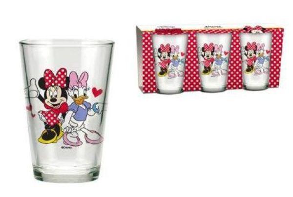 Disney Minnie<br> three pieces - a<br>glass cup set