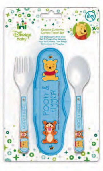 Baby travel<br> cutlery Disney<br>Winnie the Pooh