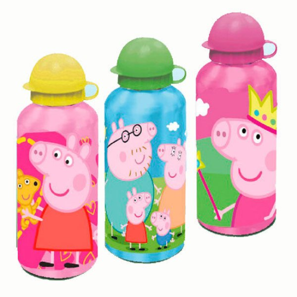 500ml aluminum<br> bottle with Peppa<br>Pig