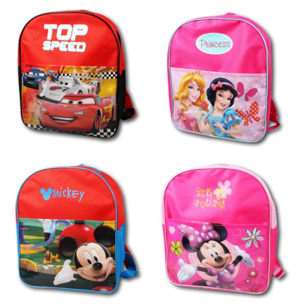 Rucksack Disney Minnie, Cars, Princess