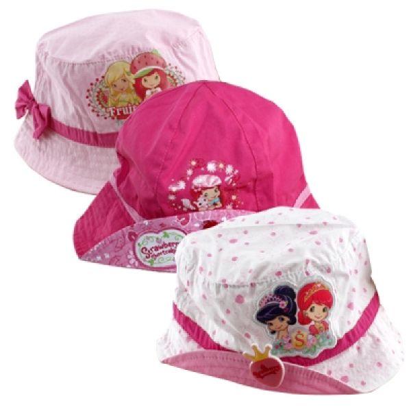 Erdbeere, Hut,<br>Mütze 50-54 cm