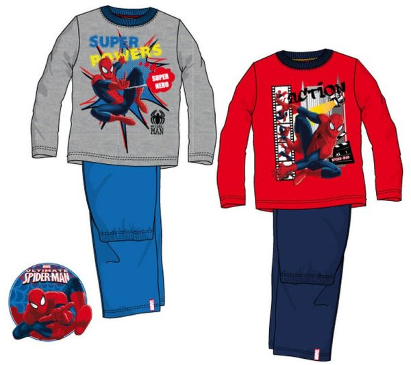 Baby long pajamas<br> Spiderman,<br>Spiderman 3-8 years