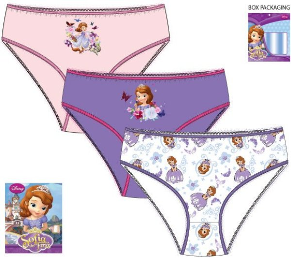 Children&#39;s<br> lingerie, panties<br>Disney Sofia, Sof