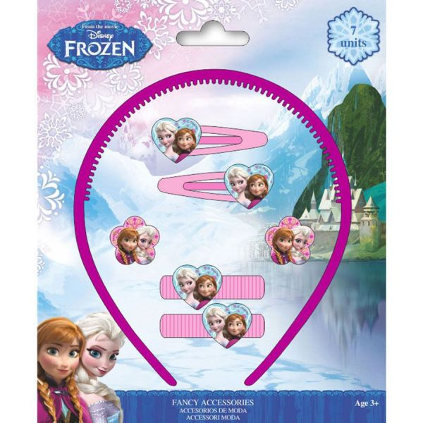Disney Frozen,<br> frozen hair clips,<br>hair rubber band