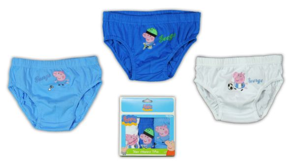 Children&#39;s<br> Underwear Peppa<br>Pig 3 pieces / pack