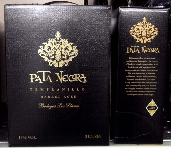 Pata Negra Red Oak<br>Box 3 L