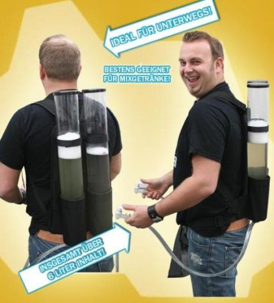 Getränkerucksack<br>2x3 Liter