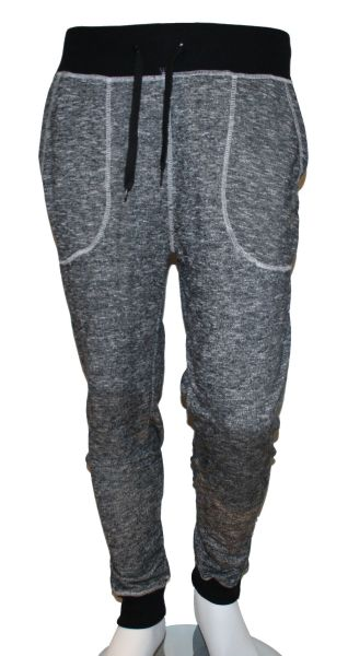 Man Jogging Pants<br> Down Fabric<br>Heather .S - XXL